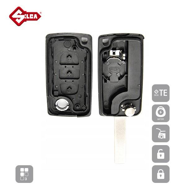 SILCA Empty Key Shells 3 Button HU83BRS8_C