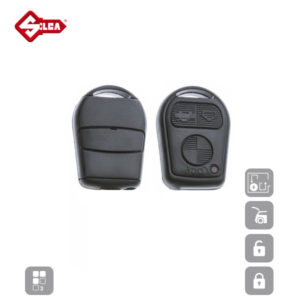 SILCA Empty Key Shells 3 Button HU92RRS8N
