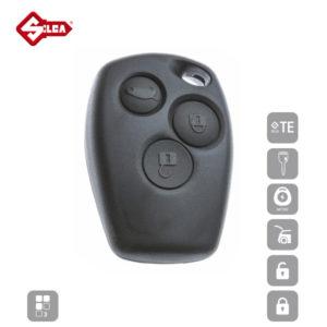 SILCA Empty Key Shells 3 Button NERS5