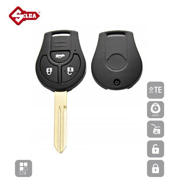 SILCA Empty Key Shells 3 Button NSN14RS8_B