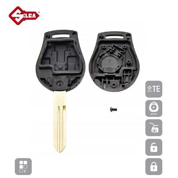 SILCA Empty Key Shells 3 Button NSN14RS8_C