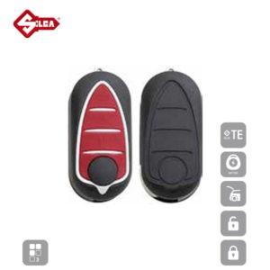 SILCA Empty Key Shells 3 Button SIP22BRS8