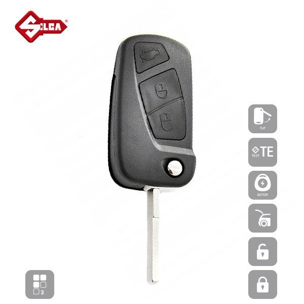 SILCA Empty Key Shells 3 Button SIP22ERS8_A