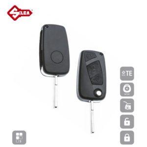 SILCA Empty Key Shells 3 Button SIP22RS8