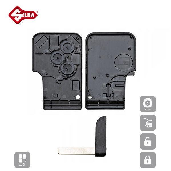 SILCA Empty Key Shells 3 Button VA150RS8_C
