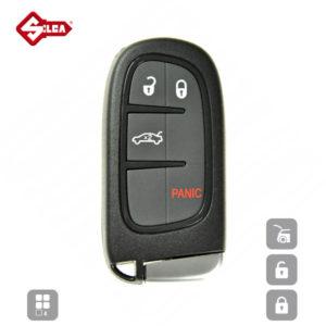 SILCA Empty Key Shells 4 Button CY24RS10