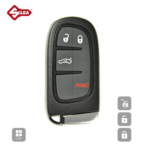 SILCA Empty Key Shells 4 Button CY24RS10_A