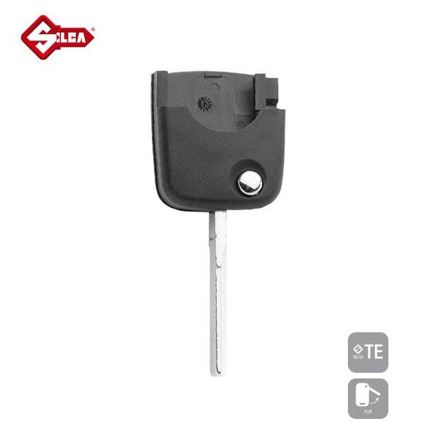 SILCA Empty Key Shells Flip Key HU66APRS_A