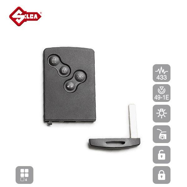 SILCA Proximity, Slot and Remote Vehicle Keys 4 Button VA150S13_B
