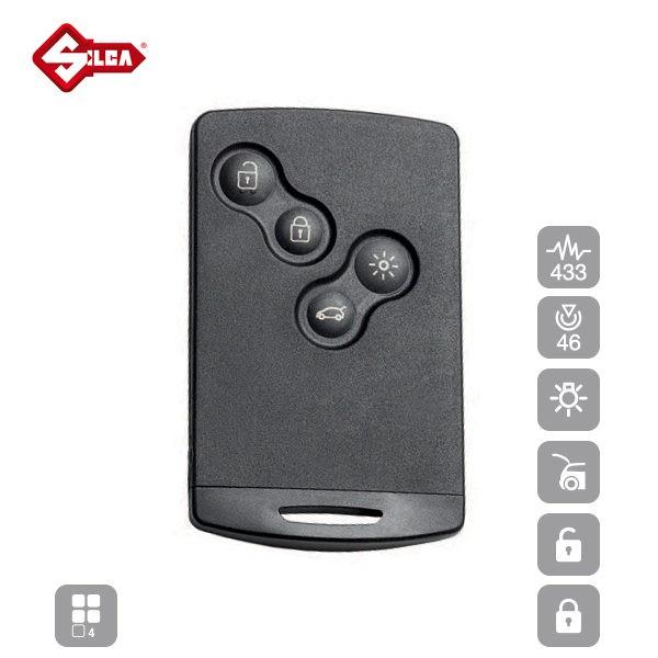 SILCA Proximity, Slot and Remote Vehicle Keys 4 Button VA150S15_A