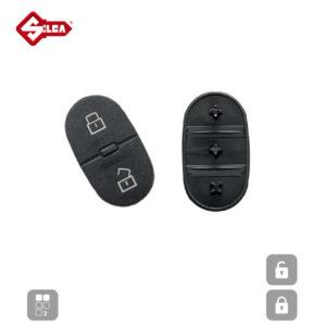 SILCA Rubber Pads 2 Button HURSD2