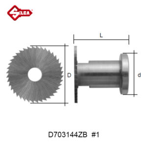 SILCA Side Warding Cutter D703144ZB