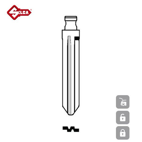 SILCA Transponder Look Alike Keys NSN14FTE_B