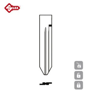 SILCA Transponder Look Alike Keys SZ18TE