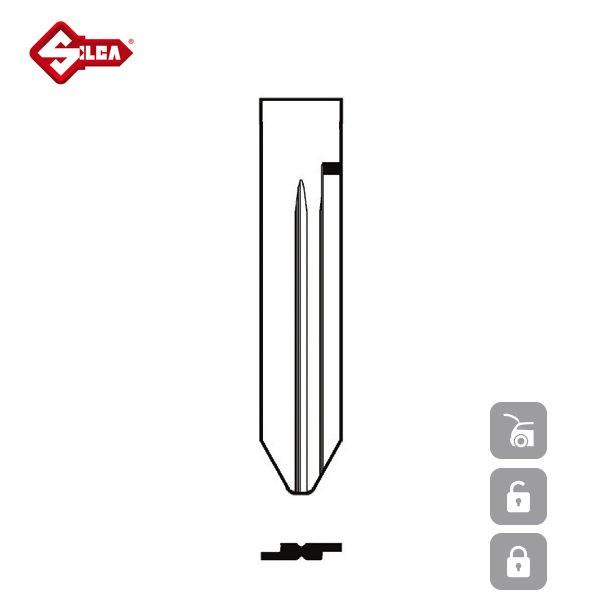 SILCA Transponder Look Alike Keys SZ18TE_B