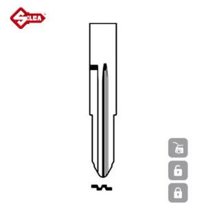SILCA Transponder Look Alike Keys TOY41RATE