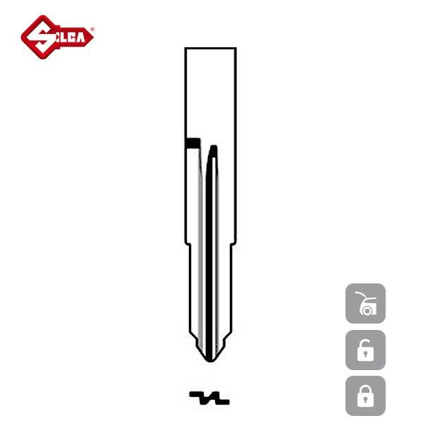 SILCA Transponder Look Alike Keys TOY46RTE_B