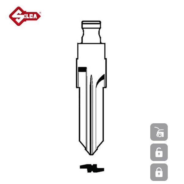 SILCA Transponder Look Alike Keys VAC102TE_B