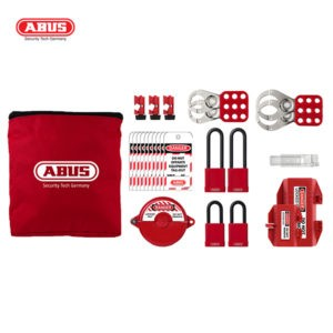 ABUS Deluxe Pouch Bag Kit Lockout AU-ABS-K915