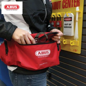 ABUS Large Pouch Personal Kit Lockout AU-ABS-K910