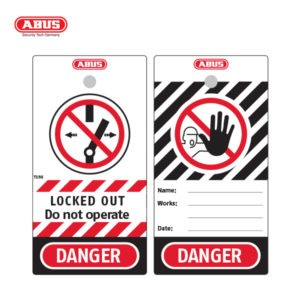 ABUS Lockout Tags Small Lockout T150