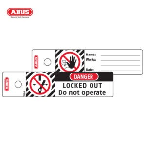 ABUS Lockout Tags Small Lockout T100