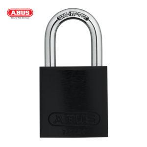 ABUS 72 Series Anodized Aluminium Padlock 72/40-BLK