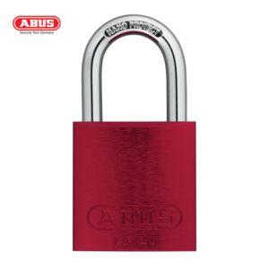 ABUS 72 Series Anodized Aluminium Padlock 72/40-RED
