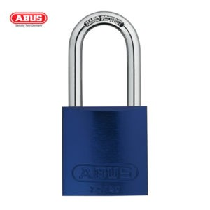 ABUS 72 Series Anodized Aluminium Padlock 72/40HB40-BLU