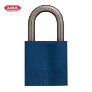 ABUS 72 Series Anodized Aluminium Padlock 72IB/40-BLU