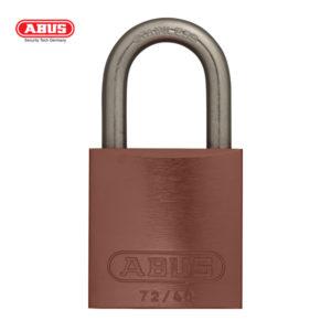 ABUS 72 Series Anodized Aluminium Padlock 72IB/40-BRN