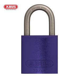 ABUS 72 Series Anodized Aluminium Padlock 72IB/40-PLE