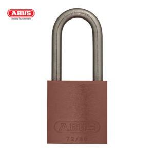 ABUS 72 Series Anodized Aluminium Padlock 72IB/40HB40-BRN