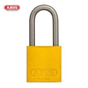 ABUS 72 Series Anodized Aluminium Padlock 72IB/40HB40-YEL