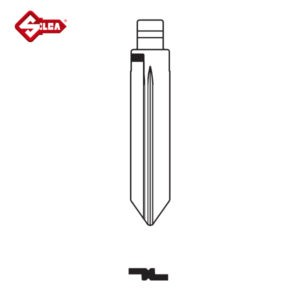 SILCA Universal CH Blade Car Key FO38RCH