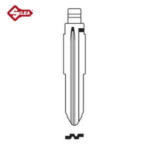 SILCA Universal CH Blade Car Key MIT8CH
